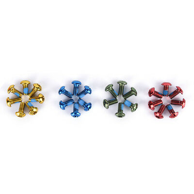 12X Bicycle Disk Brake Rotor Bolts M5 screws MTB Part Disk 4 colors options Pop