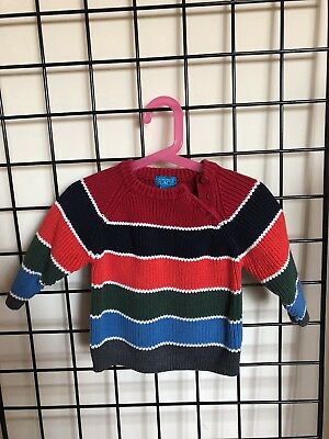 Children's Place Baby Colorful Striped Sweater Size 18M Mos