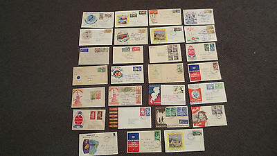 Selection off 27 X New Zealand FDC Covers in used condition.