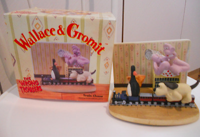 Wallace and gromit Train chase ornament by vivid imaginations