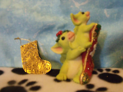 POCKET DRAGONS -  HANGING THE STOCKING.....no box