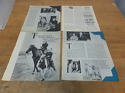 Barbara Stanwyck layout  clipping #703