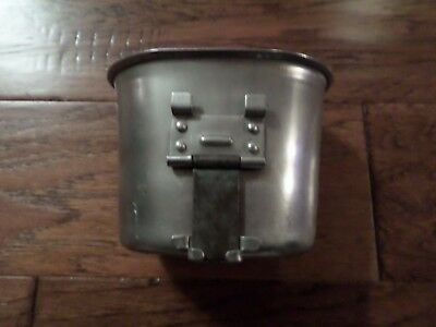 Wwii U.s Military Canteen Cup Dated 1944 Stamped U.s Foley Mfg Co Original