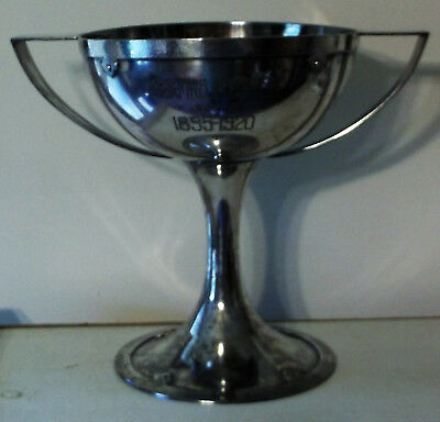Arts & Crafts Movement Silverplate Trophy Nygren 25th Anniversary 1895-1920