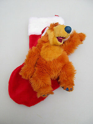 Disney Bear In The Big Blue House Plush Talking Christmas Stocking (Singing)