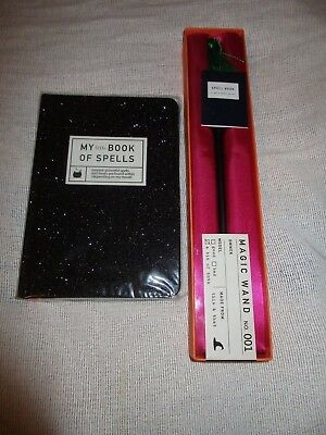 My Little Book Of Spells Journal & Magic Wand No. 001