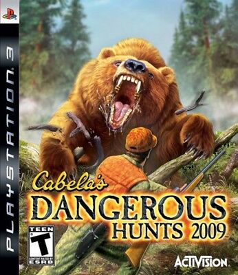 Cabela's Dangerous Hunts 2009 Sony PlayStation 3 PS3 Brand New