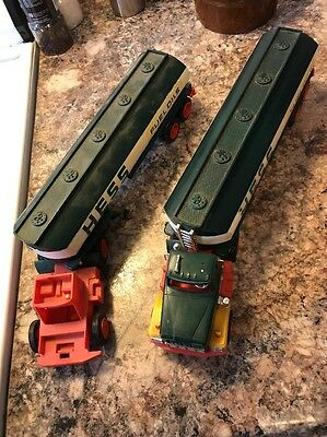 1977 Hess Trucks both trucks are for parts Tanker Original