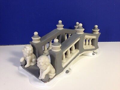 Dept 56 Dickens Village LIONHEAD BRIDGE w/ box Combine Shipping!
