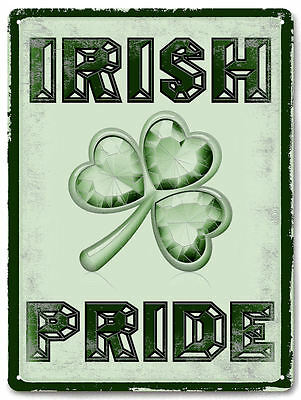 IRISH pride METAL SIGN great gift vintage style mancave room wall decor art 654