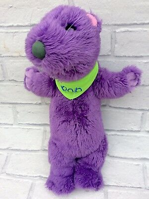 "Bear In The Big Blue House Pop Otter 14"" Purple Plush Toy"