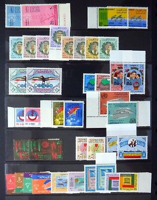 KUWAIT 1962/68 - 42 Sets All U/M Cat £234 on 3 Pages NB3908