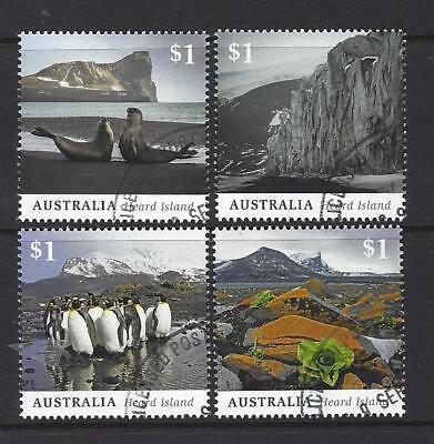 Australia 2017 Heard Island Set Of 4 Fine Used