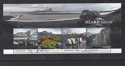 Australia 2017 Heard Island Miniature Sheet  Fine Used