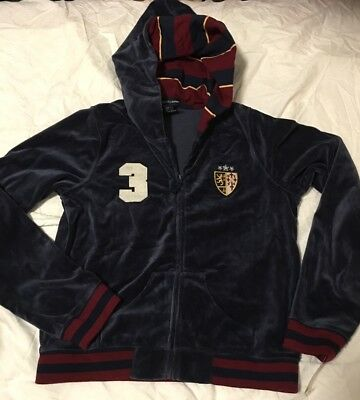New ralph lauren Hooded Jacket Yoga Track Girl size Extra Large 14/16