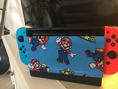 DOUBLE-SIDED, TWO DIFFERENT PATTERNS-Custom Nintendo Switch Dock Sock/Dock Cover