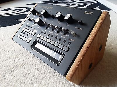 Korg Monotribe Solid Oak Wooden End Cheeks Stand