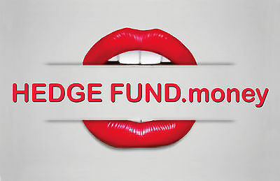 DOMAIN NAME - HEDGE FUND .money - OUTSTANDING PREMIUM DOMAIN NAME FOR SALE