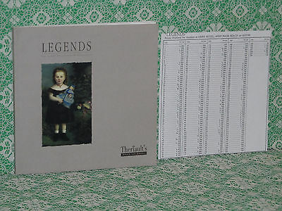Theriault's Legends With Prices Realized Sheet!