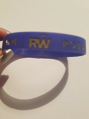 robbie williams official wristband
