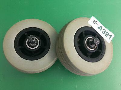 Front Caster Wheels for Quantum 600 Power Wheelchair  ~set of 2 ~ #A391