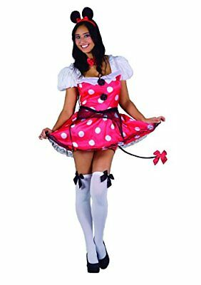 Flores Paul 25879 - Minnie Mouse traje atractivo Pepper Burlesque, Donna Adulto
