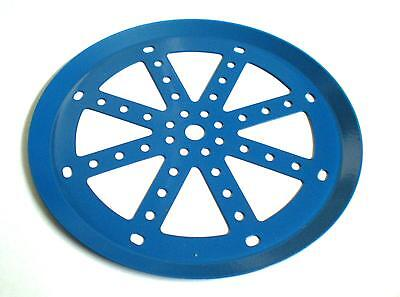 """Meccano 6"""" Pulley Plate"""