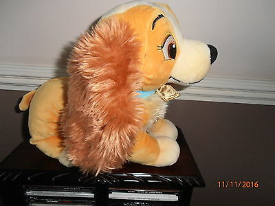 Disney Store Lady and The Tramp Lady soft toy