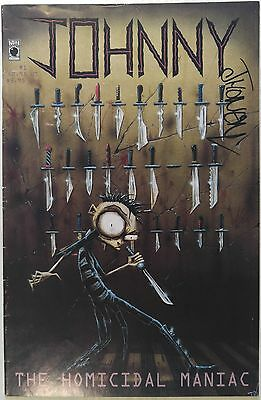 Jhonen Vasquez - JOHNNY THE HOMICIDAL MANIAC #1 [First printing; Signed]