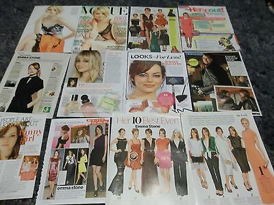 Emma Stone 215  clippings  #L81