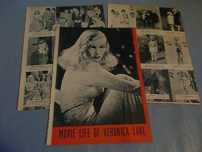 Veronica Lake  movielife  clipping #410
