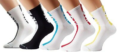5 pairs assos mille cycling socks II 43-46