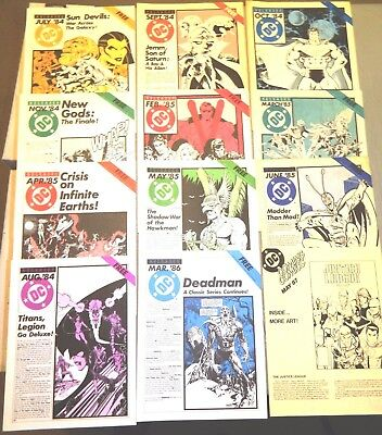 DC RELEASES & COMING COMICS 12 ISSUES 2 - 22 JUly 1984 TO MAY 1987 3 4 5 6 MORE