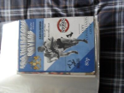 featherstone rovers v castleford 1990