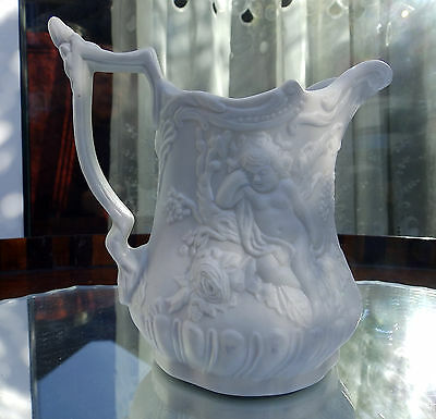 Vintage English Pottery : Portmeirion Parion Cherub / Putti Jug
