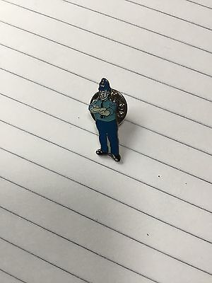 Giles Cartoon Policeman Pin Badge 6 Different To Choose From