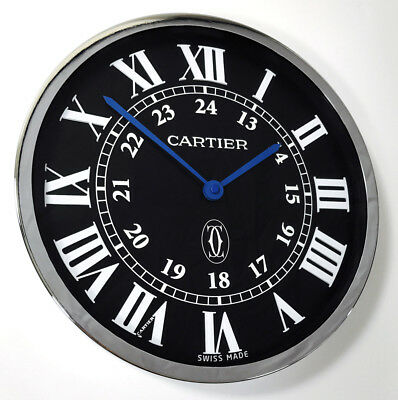 Cartier Ronde Solo Large Advertising Show Room Dealer Wall Clock