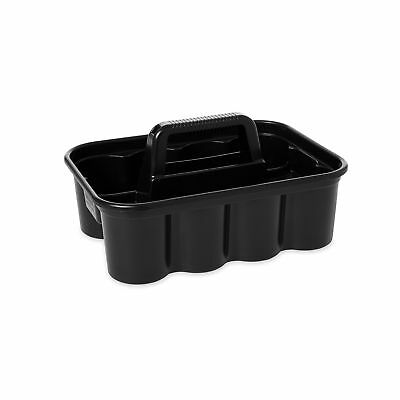 Rubbermaid Commercial Deluxe Carry Cleaning Caddy, Black