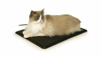 "K&H Manufacturing Extreme Weather Kitty Pad Black 12.5"" x 18.5"" 40W"