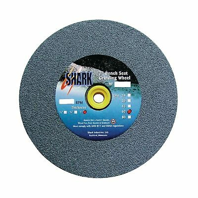 Shark 2011    5-Inch by 0.5-Inch by 0.5-Inch Bench Seat Grinding Wheel with G...