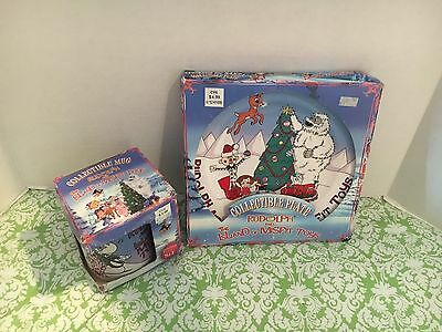 Rudolph And The Island Of Misfit Toys Collectible Plate And Mug Set CVS