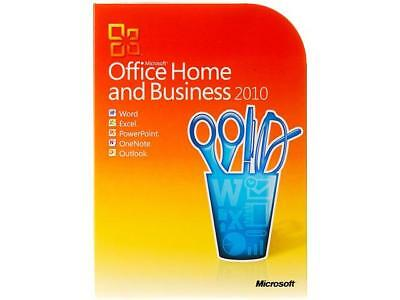 Microsoft Office 2010 Home and Business PC Neuware RETAIL Online Aktivierbar