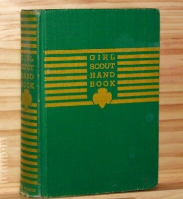 GIRL SCOUT HANDBOOK, Intermediate Program, 1940 edition, 6th print 1944, Good