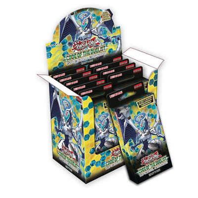 Yu Gi Oh Code of the Duelist Special Edition 3 Booster Packs Deutsch