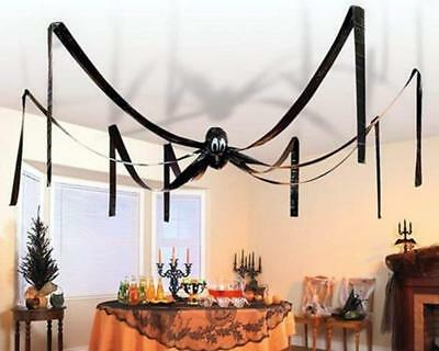 X-LARGE Whole Room Spider HALLOWEEN Hanging Decoration Ceiling Room Scene Drape