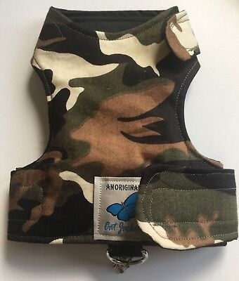 Butterfly Cat Jackets - Walking Harness Jacket Camo Camouflage Army Patterns