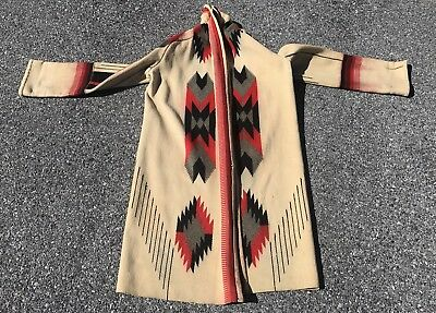 Rare Antique Navajo Indian Handmade Jacket With Fine Colors And Designs