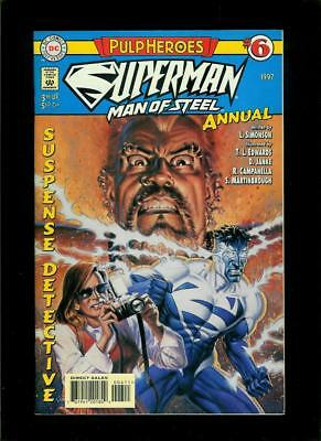 Superman The Man Of Steel Annual # 6 (DC, VF / NM) Flat Rate Combined Shipping!