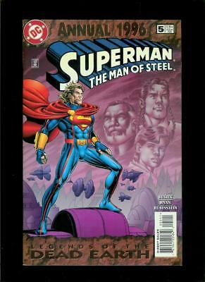 Superman The Man Of Steel Annual # 5 (DC, VF / NM) Flat Rate Combined Shipping!