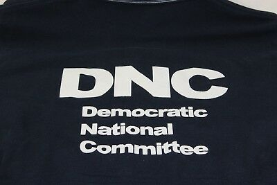 Democratic National Committee blue polo shirt Large